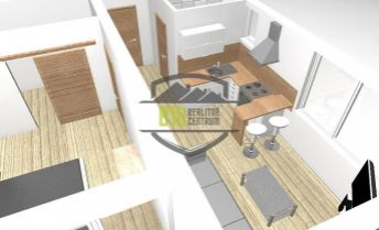 Exkluzívne !!! 2 - izbový byt, Banka - kompl. rekonštrukcia - 47 m2