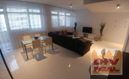 Prenájom: 3 izbový byt, mezonet, Zadunajská ulica,  zariadený s parkovaním,TV UPC (110 staníc) a  internet v cene