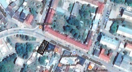 Predaj stavebného pozemku v centre mesta