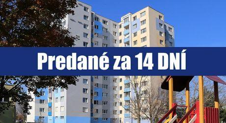 PREDANÉ ZA 14 DNÍ: Hľadáte príjemný 3 izbový byt v srdci Petržalky s výbornou občianskou vybavenosťou?