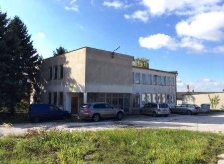 Na predaj budova - komerčný objekt v Partizánskom