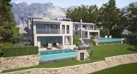 Luxusné vily s bazénom, Makarska riviera