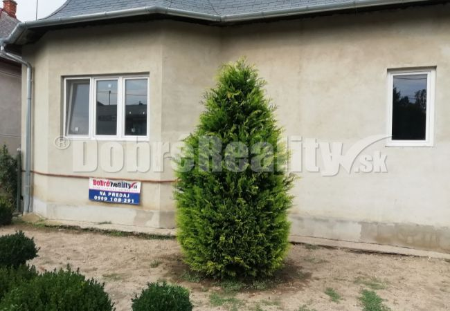 na predaj rodinný dom v obci Bruty