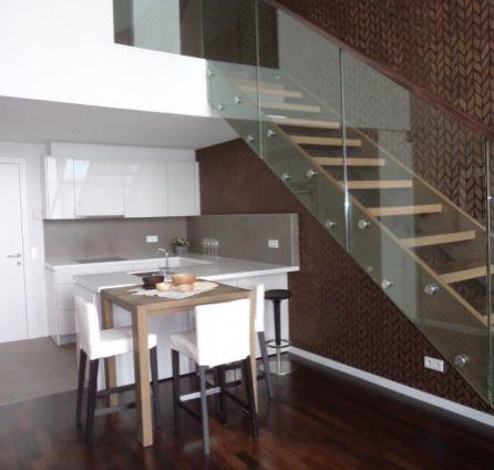 StarBrokers - Prenájom - Moderný 2-izbový mezonet v luxusnom komplexe Eurovea / Vermietung – Moderne 2-Zimmer- doppelgeschossige Wohnung im EUROVEA Luxus Komplex