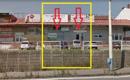 PRENAJATÉ DO 1.1.2019 - zariadené obchodné priestory pri Železničnej stanici Prešov