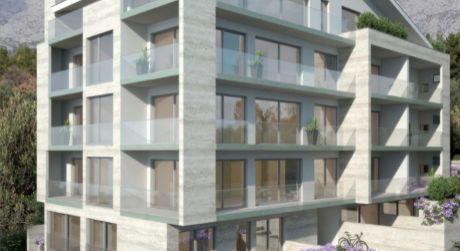 Novo postavené byty, Tučepi, Makarska riviera
