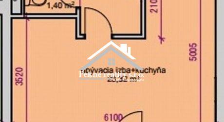 Predaj novostavby 1 izbového bytu - Zvolen, Zl. Potok