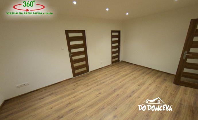 VIRTUÁLNA PREHLIADKA v texte - Na predaj 3-izbový kompletne zrekonštruovaný byt na Mládežníckej ulici v Banskej Bystrici