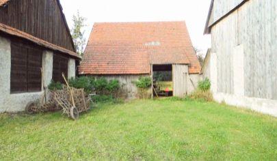 SLOVANY 2 izbový rodinný dom na poz. 1285m2, okr. Martin