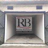 Zrekonštruovaná garáž na predaj, Astronomická - Ružinov