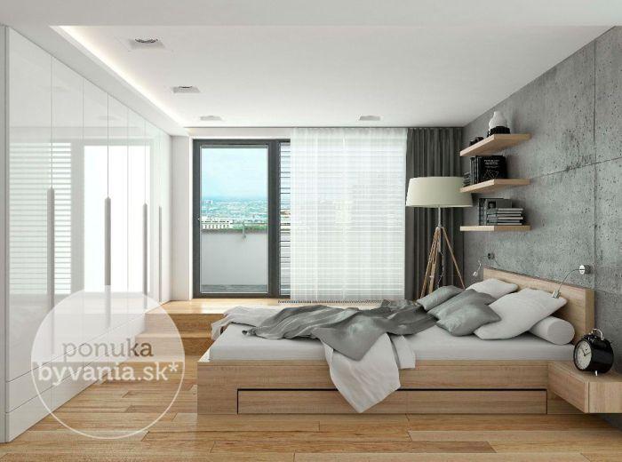 PREDANÉ - Drotárska cesta, 4-i byt, 207 m2 - prestížna novostavba, tehla, PENTHOUSE, INTELIGENTNÝ BYT, terasa s krásnym výhľadom, PRI HORSKOM PARKU