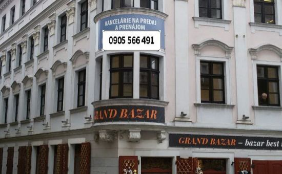 ARTHUR - Prenájom exkluzívneho priestoru 40 m², Michalská ulica