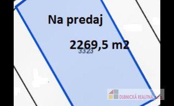 Ponúkame na predaj rekreačný pozemok 2269 m2, Horné Srnie.