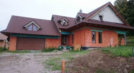 Predaj novostavby rodinného domu v Detve.