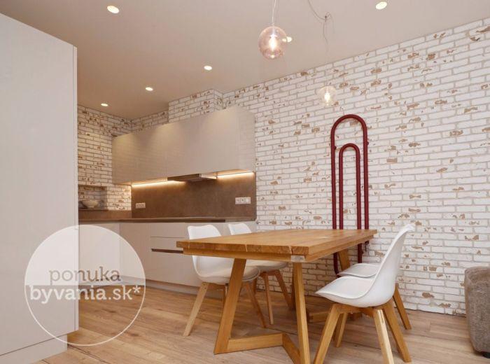 PRENAJATÉ - REZIDENCIE MACHNÁČ, 3-i byt, 85 m2 – krásne moderne zariadený, lukratívna NOVOSTAVBA, TERASA a vlastná ZÁHRADKA
