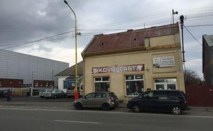 Budova-predaj,Obchodná ulica, Sečovce,s veľkým potenciálom