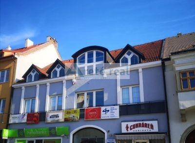 Areté real, Prenájom kancelárskych priestorov v priamom v centre mesta Pezinok, M.R.Štefánika