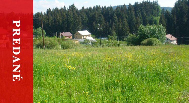 Stavebný pozemok, Olešná - na predaj