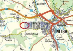 Predaj INVESTIČNÉHO 1,2 ha pozemku-LEHOTA, okr.NITRA, VK 004