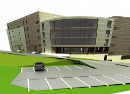 Pozemok v centre BB SCHVÁLENÝ na výstavbu NOVOSTAVBY BYTOVÉHO DOMU S POLYFUNKCIOU