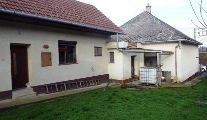 BLESOVCE 4 izbový dom, pozemok 1669 m2 + 9052 m2 ornej pôdy, okr. Topoľčany