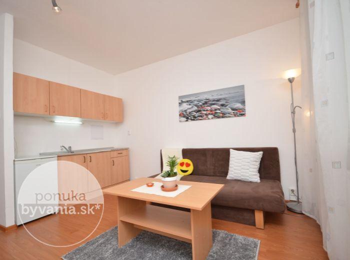 PREDANÉ - ŠUSTEKOVA, 1-i byt, 30 m2 – rekonštrukcia, priestranná LOGGIA, mesačné NÁKLADY IBA 63 EUR, výborná lokalita - začiatok Petržalky, blízko ELEKTRIČKY, trhoviska a AUPARKU