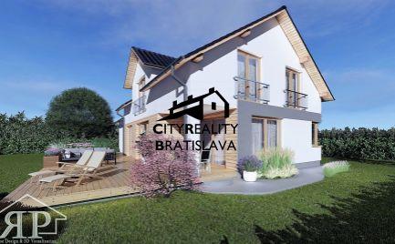 Výstavba bungalovu Encián