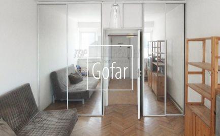 1-izbový byt s krásnym výhľadom, Bratislava I., 28m2