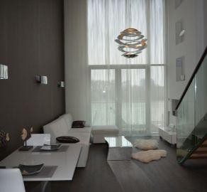 StarBrokers - Prenájom - Luxusný 2-izbový mezonet s výhľadom na Dunaj v komplexe Eurovea / Vermietung - 2-Zimmer luxuriöse Wohnung in Eurovea