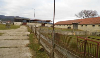 SLOVENSKÉ PRAVNO 15000m2 pozemok s hospodárskymi budovami, okr.Turčianske Teplice