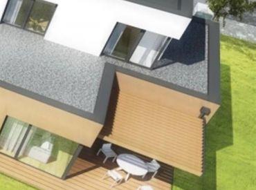 Novostavba radového rodinného domu so záhradou (2-C)