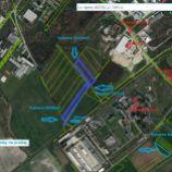 Pozemky na predaj s rozlohou 3243m2, 3529m2, 351m2, 62,5m2, 946m2 a 94,5m2, Bratislava III