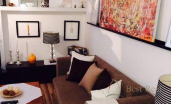 Best Real - predaj 1-izbového bytu s balkónom na Riazanskej ulici v Novom Meste, 4/6 poschodie, 42m2.