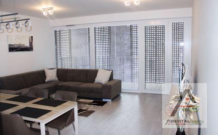 REZERVOVANÉ - Prenájom : 3-izbový zariadený byt s garáž.státím a lodžiou - Rezidencia Pri Mýte