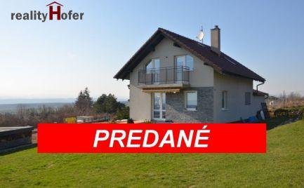 Energeticky úsporná novostavba, pozemok 3977m2, nad obcou Žehňa, Prešov