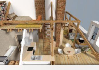 Nový 3i mezonetový byt s balkónom v centre Nitry na predaj, 74 m²