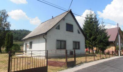RABČA 3 izbový rodinný dom na poz. 620m2, okr. Námestovo