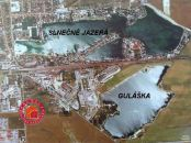 2665 m2 POZEMOK V SENCI na jazere Guláška - HLBOKÉ JAZERO, priamo pri vode.