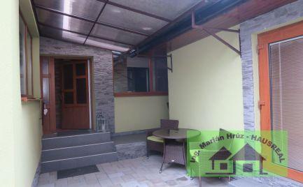 Pekný 3-izbový dom, 120 m2, dielňa, kompletná rekonštrukcia, Pukanec