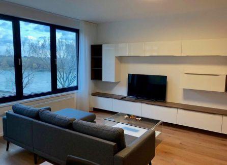 Starbrokers – Prenájom – Krásny dizajnový 3-izbový byt  s výhľadom na Dunaj v novostavbe Zuckermandel