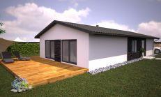 4i Nizkoenergetický Bungalov- 94 m2, pozemok 436 m2