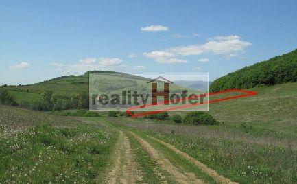 Rekreačný pozemok 4267m2 pod lesom, Kanaš, Prešov