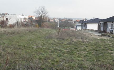 Stavebný pozemok Nitrianske Hrnčiarovce 16,6árov