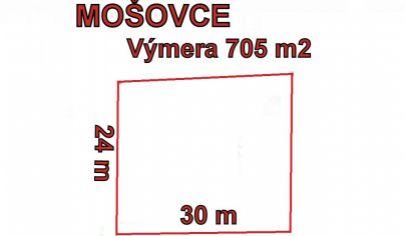 MOŠOVCE pozemok stavebný 705m2, okr. T.Teplice