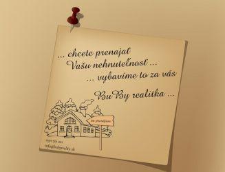 Hľadáme Obchodné Priestory 50 m2 Centrum Žilina