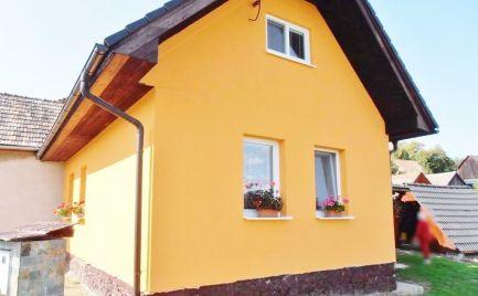 4. izbový zateplený rodinný dom Budiš, s pozemkom 690 m2, kompletná rekonštrukcia