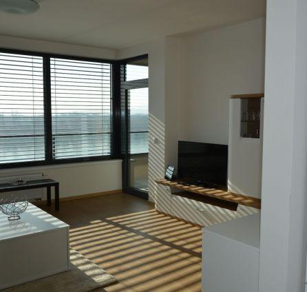 StarBrokers – Prenájom moderne zariadeného 2-izbového bytu v komplexe Zuckermandel s výhľadom na Dunaj