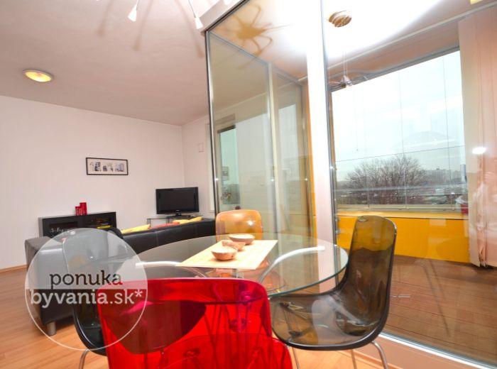 PRENAJATÉ - MRAZIARENSKÁ, 2-i byt, 55 m2 – moderná NOVOSTAVBA s recepciou, kompletne zariadený vrátane spotrebičov, IHNEĎ VOĽNÝ, Ružinov – Nivy