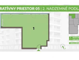 Ponúkame na predaj administratívne priestory v polyfunkčnej budove, Liptovský Mikuláš
