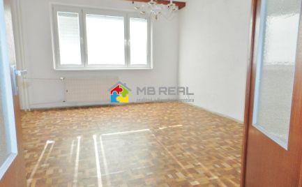 Trojizbový byt s lodžiou, Žiar nad Hronom, Centrum II., 70 m2
